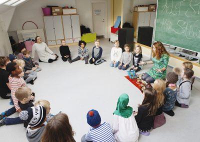 AltStarterMedSang Huskunstnerforløb, Gasverksvejenskole, foto af Erika Svensson