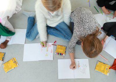 AltStarterMedSang Huskunstnerforløb, Gasværksvejens Skole Vesterbro, foto af Erika Svensson