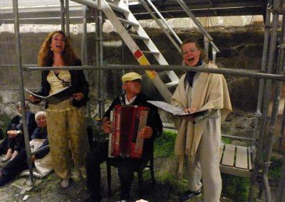 Fyrnatskoncert Christiansø, foto af Morten Magni