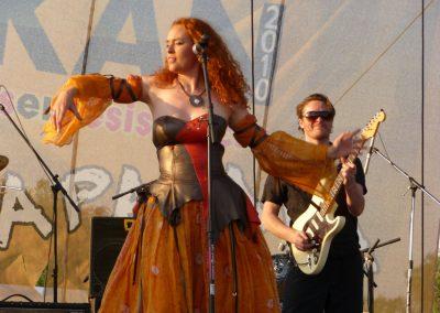 Gudrun Holck Band Mexico Tour, foto af Robert Drays